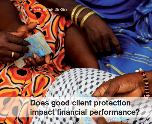 Does Good Client Protection Impact Financial Performance?