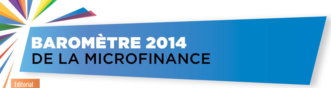 Baromètre de la Microfinance 2014