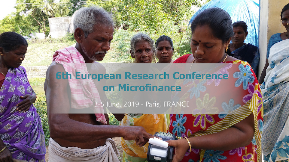 MFR at European Research Conference on Microfinance 2019