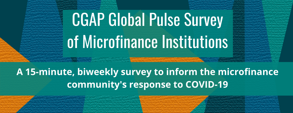 ATLAS hosts CGAP's Global Microfinance Survey to Inform COVID-19 Response